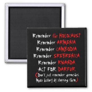 Activism: Don't just remember genocides... Magnet