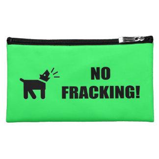 Activist Dog: No Fracking Cosmetic Bag