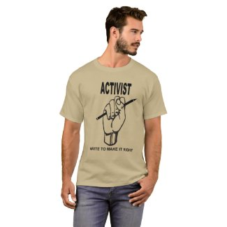 Activist Poet T-Shirt