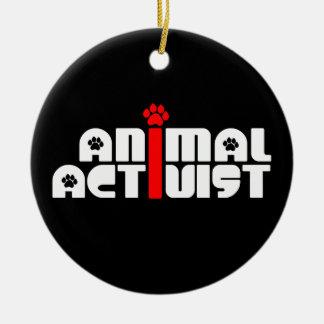 Activista animal ornamente de reyes