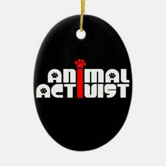 Activista animal ornatos