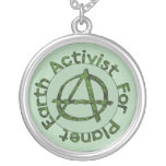 Activista de la tierra colgante personalizado