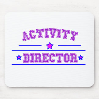 Activity Director Design Mouse Pad