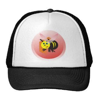 activity honeycomb abelhinha bee fofa trucker hat