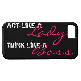 Acto como una señora iPhone 5 carcasas