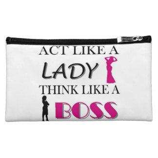 Acto como una señora Think Like A Boss