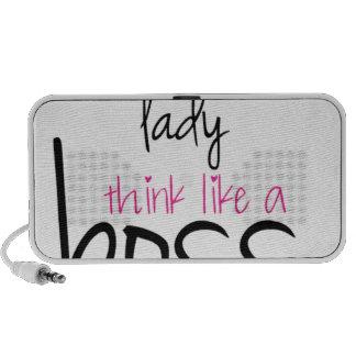 Acto como una señora Think Like Boss PC Altavoces