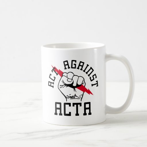 Acto contra ACTA Taza