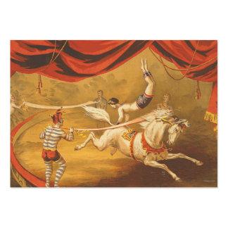 Acto de circo de la CAMISETA Plantilla De Tarjeta De Visita