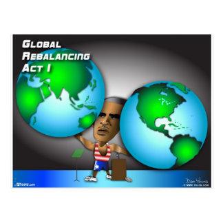 Acto de reequilibrio global 1 de Obama Postal