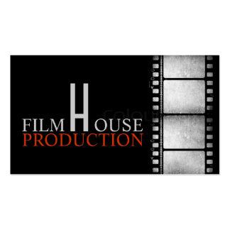Acto del productor de películas de director tarjetas de visita