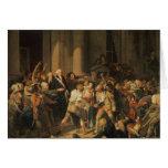 Acto del valor de Monsieur Defontenay Tarjetón