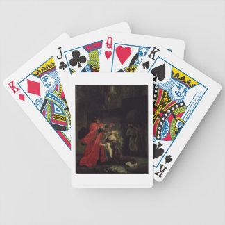 Acto I, escena 3: Desdemona que se arrodilla en su Baraja Cartas De Poker