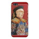 Acto mágico del vintage oriental del mago del ~ de iPhone 5 protector