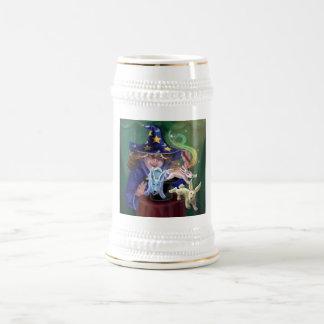 Acto mágico jarra de cerveza