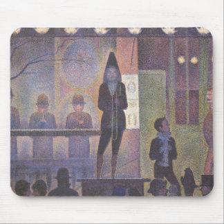 Acto secundario de circo por Seurat, arte del Tapete De Raton