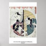 Acto siete del Chushingura por Kitagawa, Utamaro Impresiones