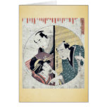 Acto siete del Chushingura por Kitagawa, Utamaro Felicitacion