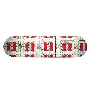 Acton Family Crest.png Skateboard Deck