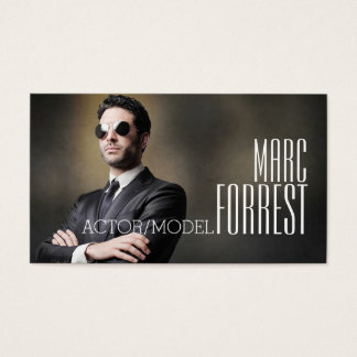 Actor Business Cards Templates Zazzle