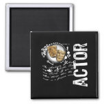 Actor Alchemy of Acting 2 Inch Square Magnet