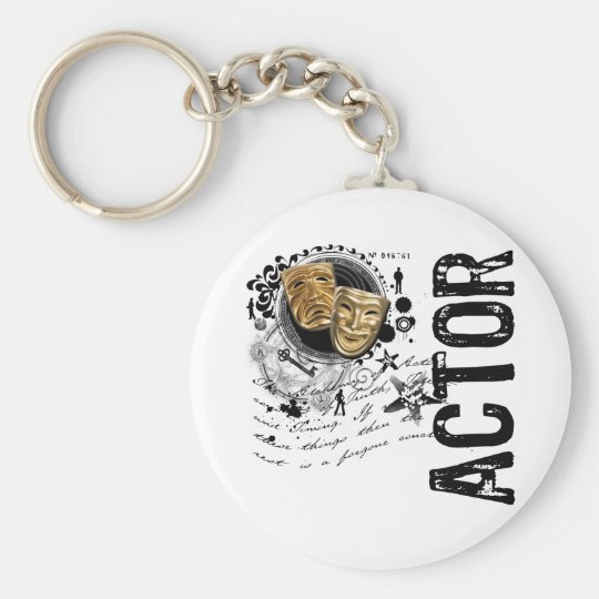 Actor Alchemy of Acting Keychain
