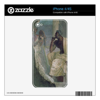 Actor and Mask, from the House of the Tragic Poet, Decal For iPhone 4