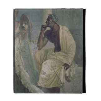 Actor and Mask, from the House of the Tragic Poet, iPad Folio Case