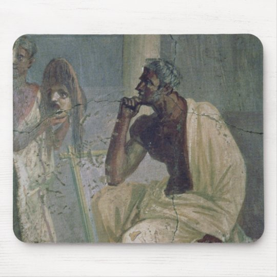 Actor and Mask, from the House of the Tragic Poet, Mouse Pad
