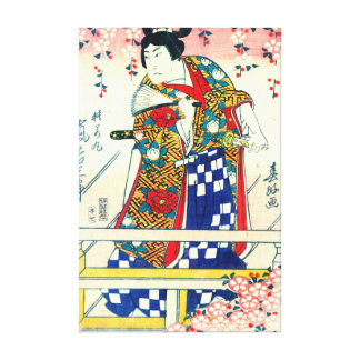 Actor Arashi Kichisaburo 1810 Canvas Prints