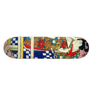 Actor Arashi Kichisaburo 1810 Custom Skate Board