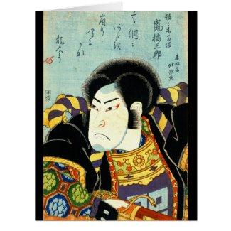 Actor Arashi Kichisaburo 1818 Card