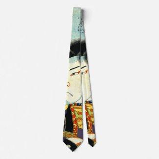 Actor Arashi Kichisaburo 1818 Tie