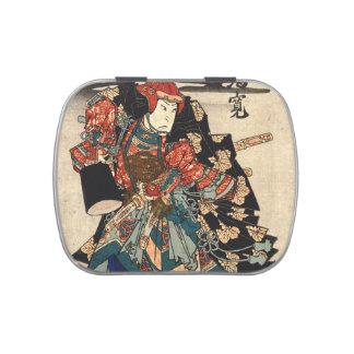 Actor Arashi Rikan 1830 Jelly Belly Tin