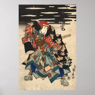 Actor Arashi Rikan 1830 Poster