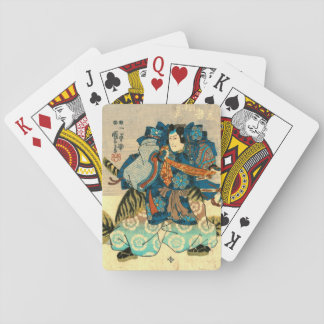 Actor as Samurai Kunitake 1847 Card Deck