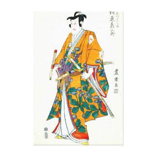 Actor Bando Hikosaburo III 1807 Stretched Canvas Prints
