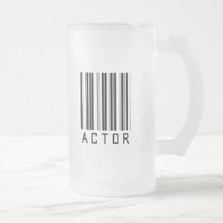 Actor Bar Code Coffee Mugs