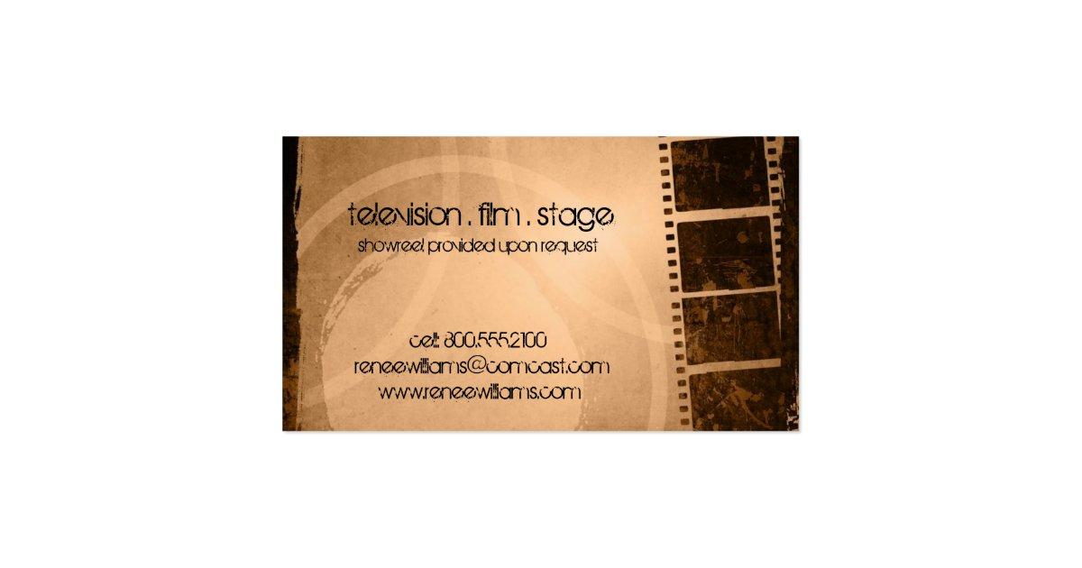 Business card ideas for actors / Se7en movie envy