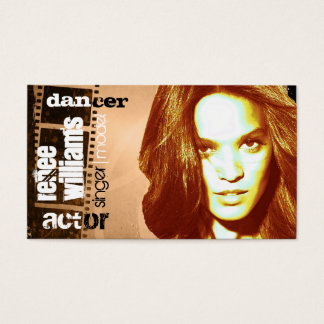 actor business card (contact to customize)