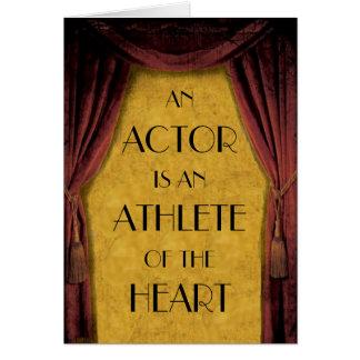 Actor Card