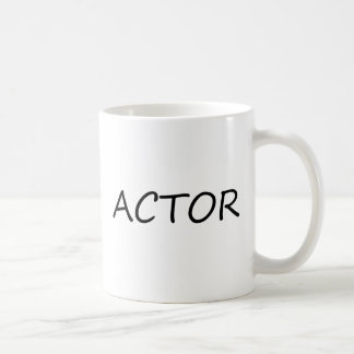 Actor Classic White Coffee Mug