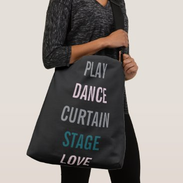 Beach Themed Actor Dancer Singer Accessory Party Tote Bag