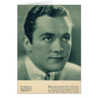 Actor de cine de Rogers del compinche Tarjeta De Felicitación