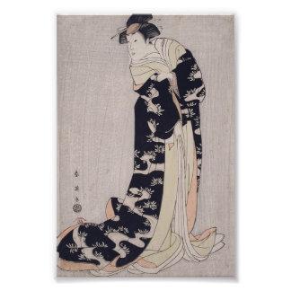 Actor de Kabuki Fotografias