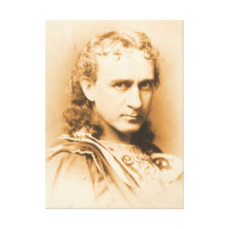 Actor Edwin Booth c1860 Canvas Prints