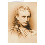 Actor Edwin Booth c1860 Card
