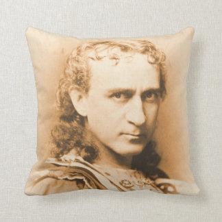 Actor Edwin Booth c1860 Throw Pillow