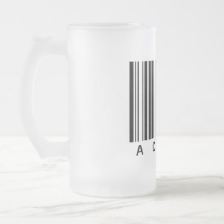 Actor Frosted Glass Beer Mug