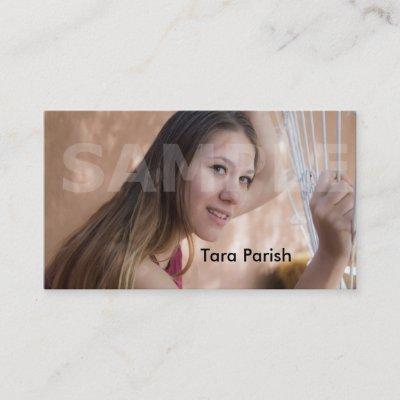 Grunge actor headshot business card zazzle colourmoves